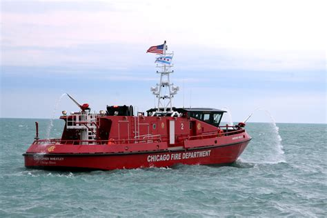 fire boat chicago fire boat the christopher wheatley