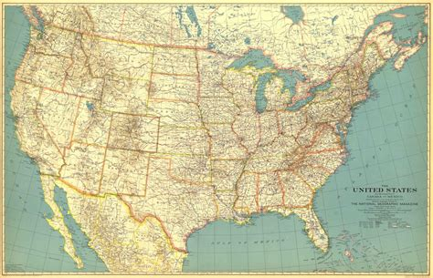 united states map of america united states of america map 1933 maps