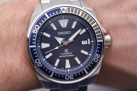 Seiko Prospex Samurai Srpb49k1 Automatic Divers Blue Diver Ter on seiko prospex samurai collection for 2017 srpb49k1 srpb51k1 srpb53k1 srpb55k1
