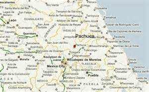 hidalgo map pachuca location guide