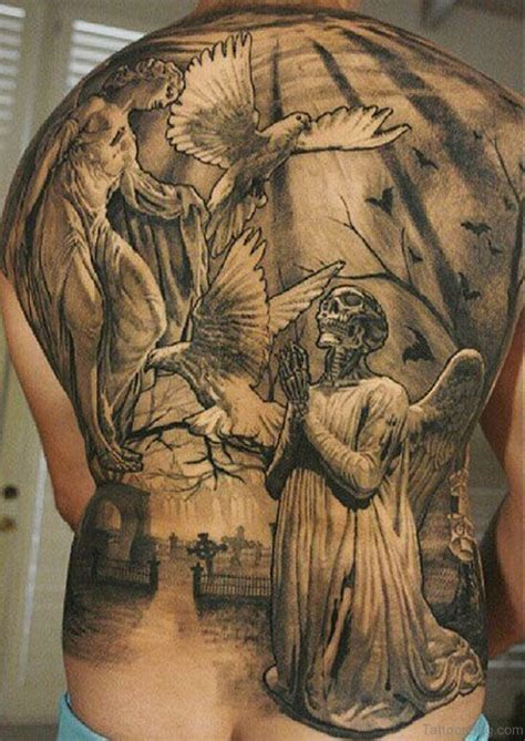 tattoo designs jesus 54 graceful religious tattoos on back