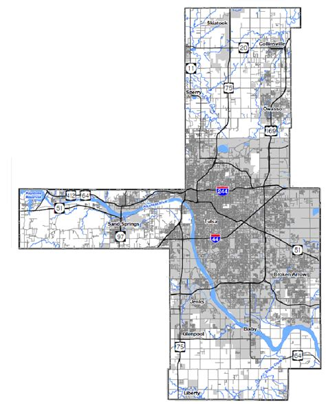 Tulsa County Search Tulsa County Map My