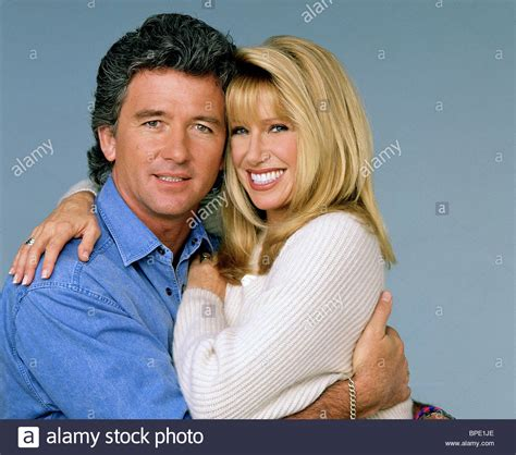 patrick duffy and suzanne somers patrick duffy suzanne somers step by step 1991 stock