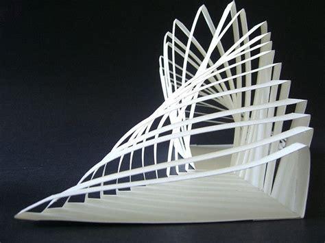 Folding Paper Architecture - folding architecture concept models