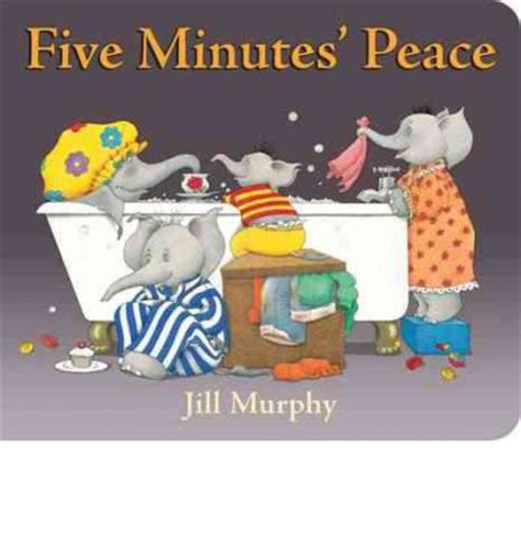 libro five minutes peace large five minutes peace jill murphy 9780399257070