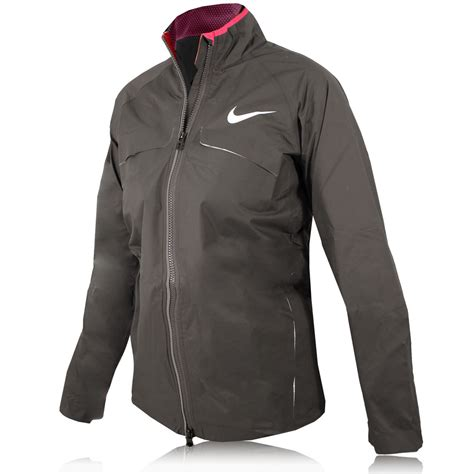 Jaket Running Nike Waterproof Ungu 1 nike waterproof race day running jacket sportsshoes