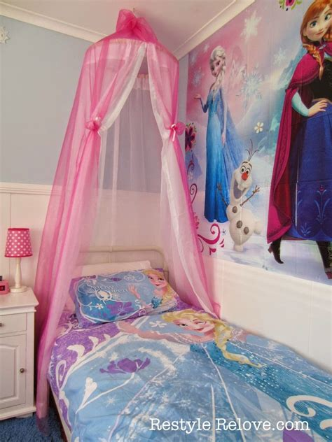 diy girls bed a new bed and diy bed canopy for my frozen princess