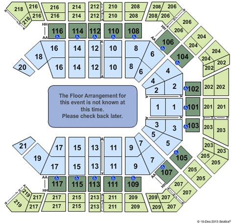 grand arena grand west floor plan barry manilow las vegas tickets 2017 barry manilow