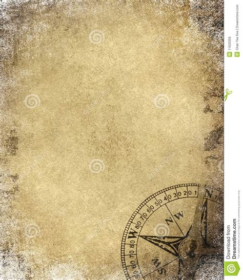 How To Make Vintage Paper - vintage paper with compass royalty free stock image