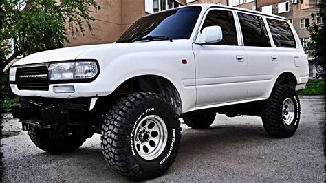 91 Toyota Land Cruiser 1991 Toyota Land Cruiser Suv Specifications Pictures Prices