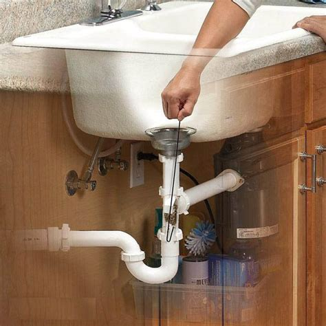 how to unclog a kitchen sink filled with water unclog a kitchen sink hac0 com