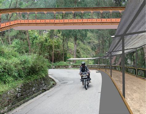 design concept gangtok namnang walkways gangtok design pp architects