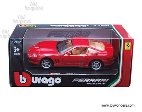 Diecast Bburago 1 24 550 Maranello Y885 550 maranello top by bburago race play 1 24 scale diecast model car