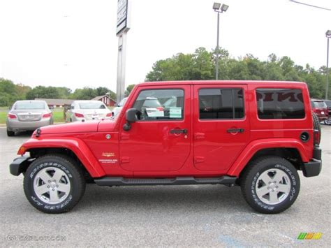 flame red jeep the gallery for gt red jeep wrangler sahara unlimited