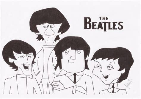 Imagenes Extrañas De Los Beatles | caricatura the beatles taringa