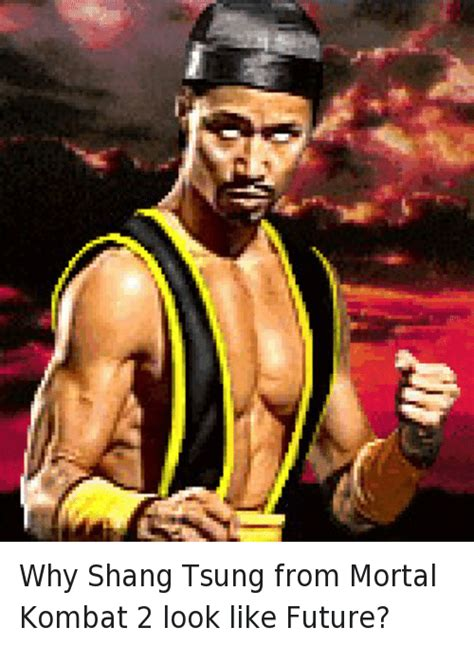 Future Rapper Meme - why shang tsung from mortal kombat 2 look like future