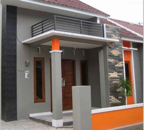 desain pilar teras rumah minimalis terbaru foto