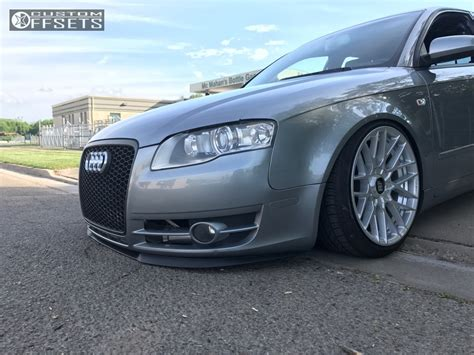2006 Audi A4 Wheels by 2006 Audi A4 Quattro Rotiform Rse Bc Racing Coilovers