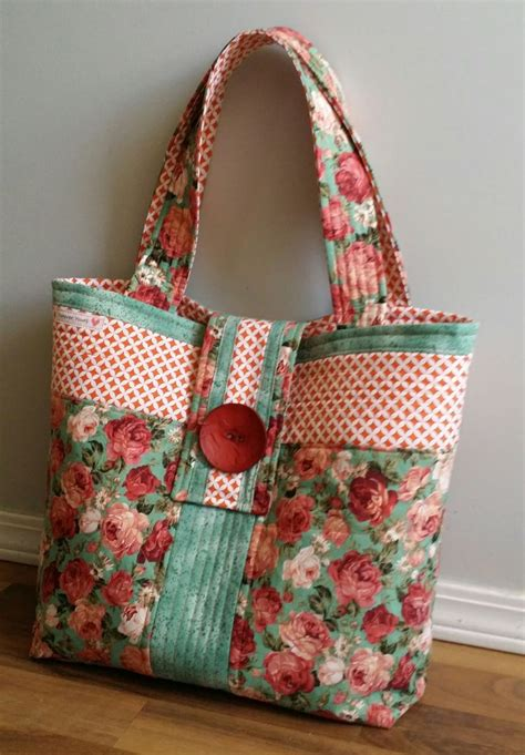 Quilted Bag by Quilted Tote Bags