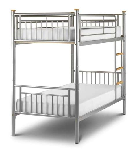 Bunk Beds Atlanta Atlanta Silver Bunk Bed Sale Now On Your Price Furniture