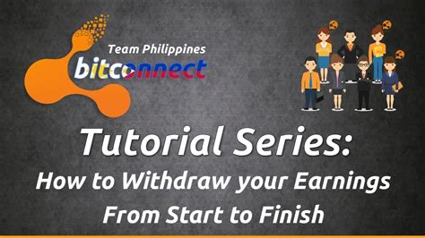 bitconnect how to withdraw bitconnect tagalog tutorial series how to withdraw