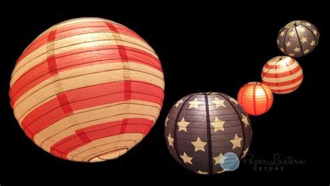 Patriotic 4th Of July Stars And Stripes Paper Lantern Paper Lantern String Light