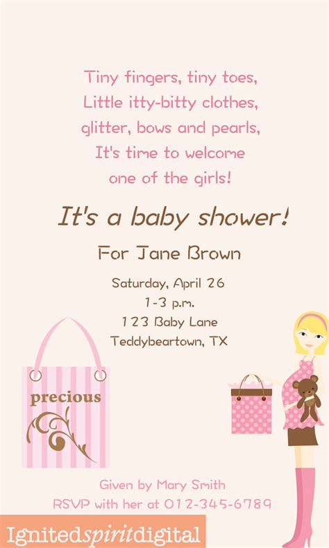 Baby Shower Verses And Poems by Baby Shower Poems Verses Choice Image Handicraft Items