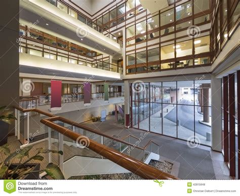 Pixar Offices modern office building lobby stock photo image 42815848