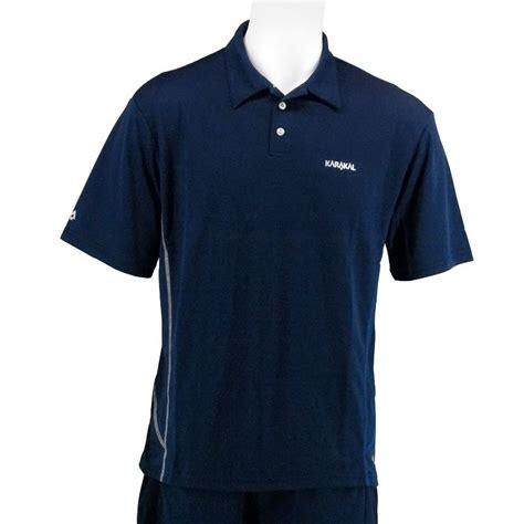 Zury Polo Shirt Navy karakal button polo shirt