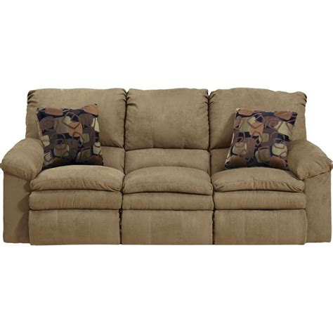 catnapper impulse reclining sofa in cafe and espresso