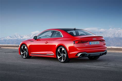 Audi Rs 5 by Audi Rs 5 Breaks Cover In Geneva With 444 Hp Automobile