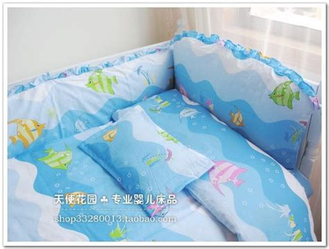 baby blue crib bumper breathable baby bed bumper blue baby crib bumper set duvet