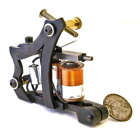 iron horse tattoo machine custom inx machine style frame matte black