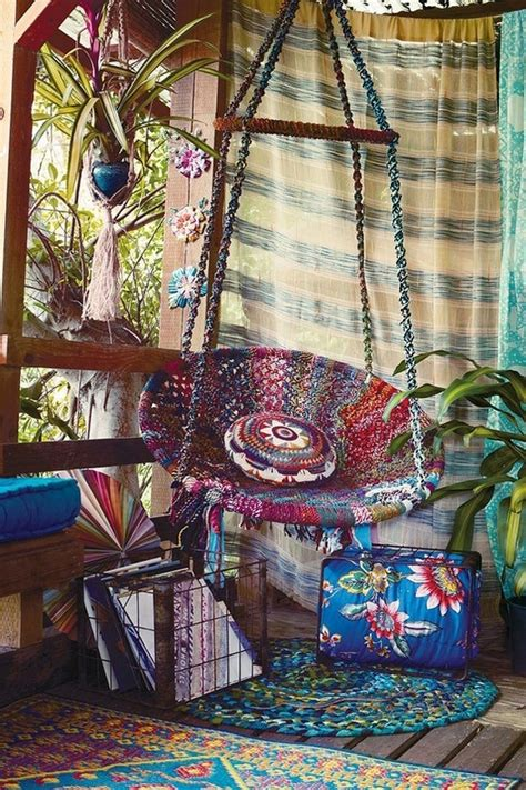 20 bohemian decor ideas boho room style decorating and inspiration 20 awesome bohemian porch d 233 cor ideas digsdigs