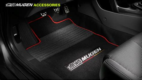 mugen crz sports floor mats afh parts
