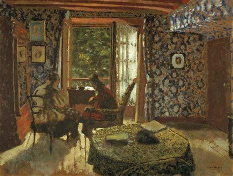 Interior Cracks In Walls Art Now And Then Edouard Vuillard