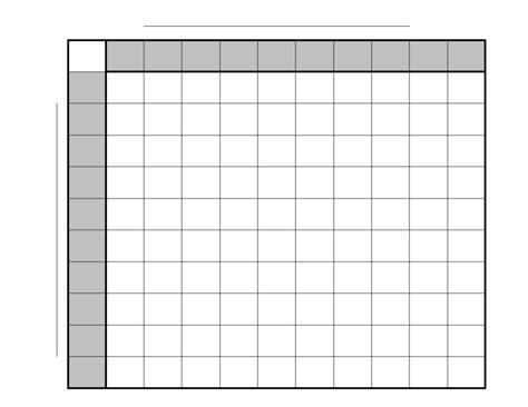 football square board template printable 10 x 10 football pool template studio