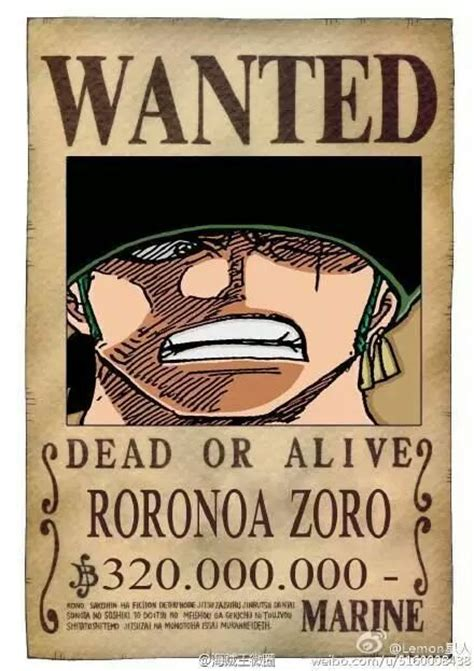 Kaos Anime Brook Wanted One Bounty the new straw hat wanted posters anime amino