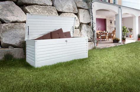 contenitori da giardino novit 224 giardino casette e contenitori porta tutto in metallo