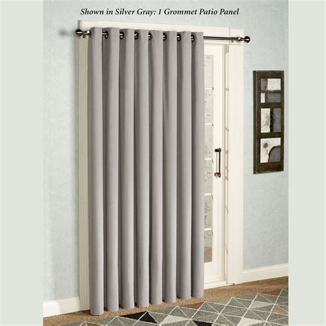 patio doors curtains glasgow grommet patio panel