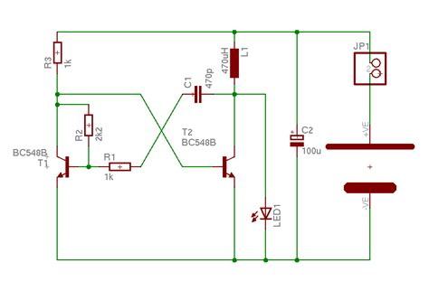 joules thief circuit diagram the joule thief or just another white led torch