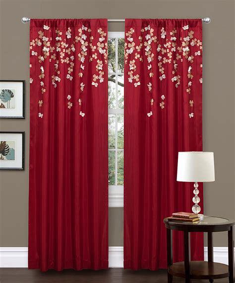 Lush Decor Curtains Lush Decor Faux Silk Inch Flower Trends With Curtains For Bedroom Images Hamipara