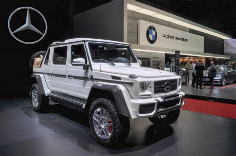 maybach jeep 2017 mercedes maybach g650 landaulet revealed limited to 99 units
