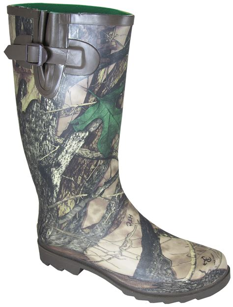 rubber boots hunting smoky mountain boots womens camo stalker camo rubber