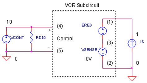 what is a voltage controlled resistor voltage controlled resistor