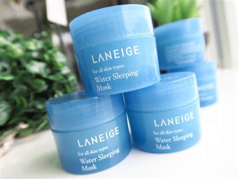 Harga Laneige Water Sleeping Mask Ori laneige water sleeping mask 15ml
