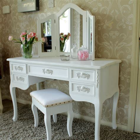 white dressing table desk pays blanc range melody maison 174