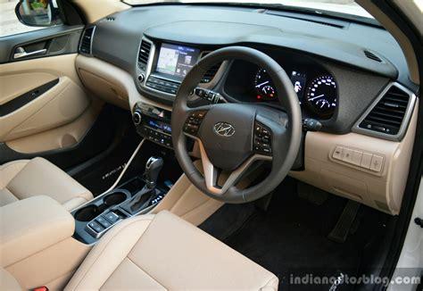 2016 hyundai tucson interior review indian autos