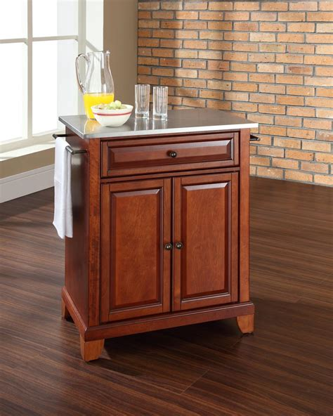 crosley newport portable kitchen island by oj commerce kf30022cch 289 00