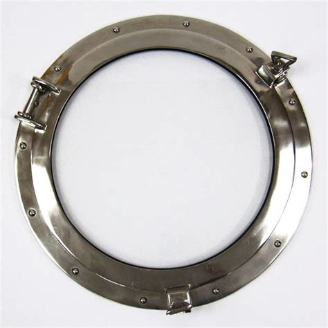 round boat windows for sale aluminum chrome finish 20 quot ships porthole glass window